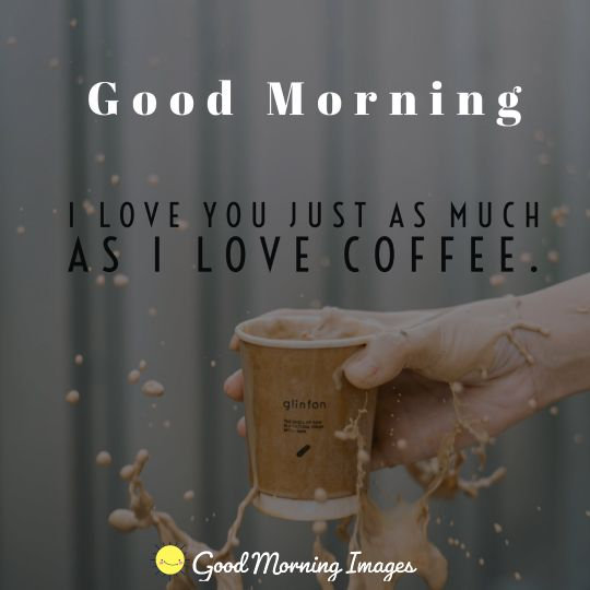 New day, a new cup of coffee