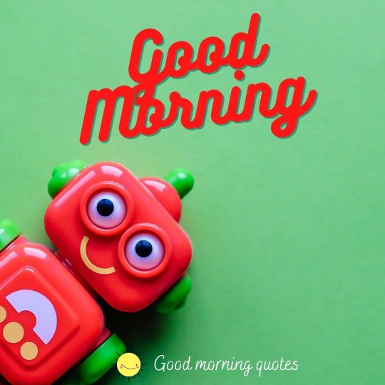 Wishing you a happy morning