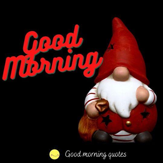 funny Santa clause good morning