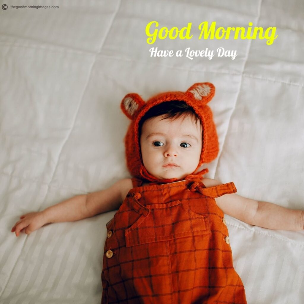 lovely Good Morning Baby images