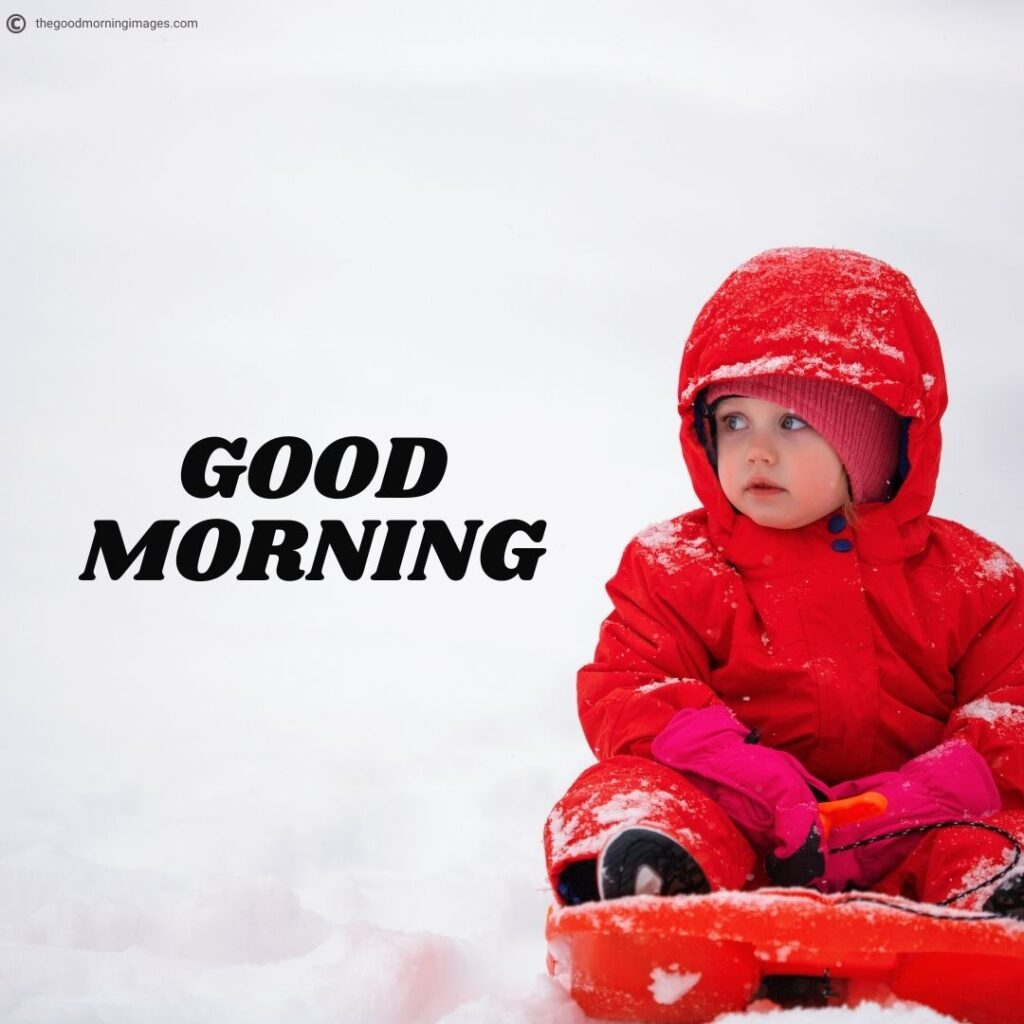 Good Morning images with baby