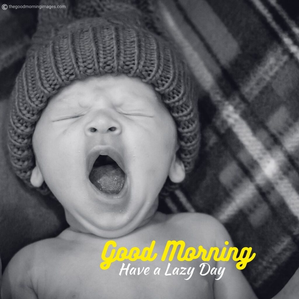 Good Morning funny baby images