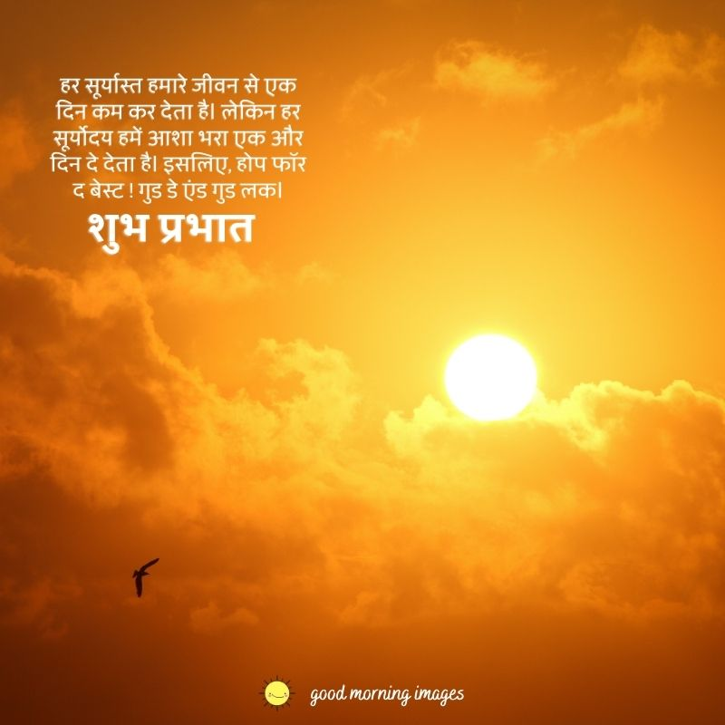 Good Morning Images in Hindi 3