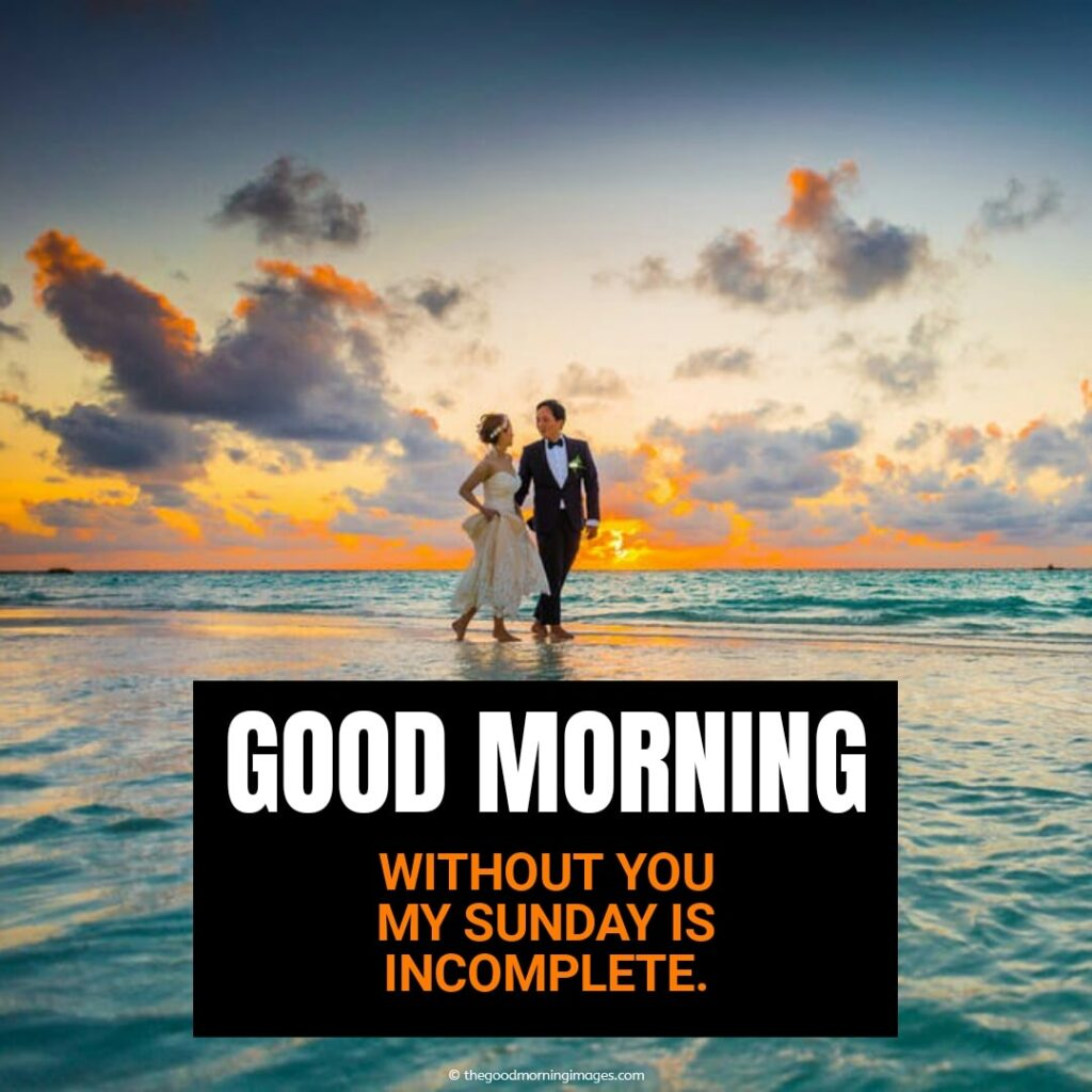 happy blessed sunday quotes with couple love