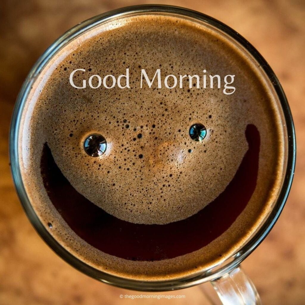 good morning coffee smile images