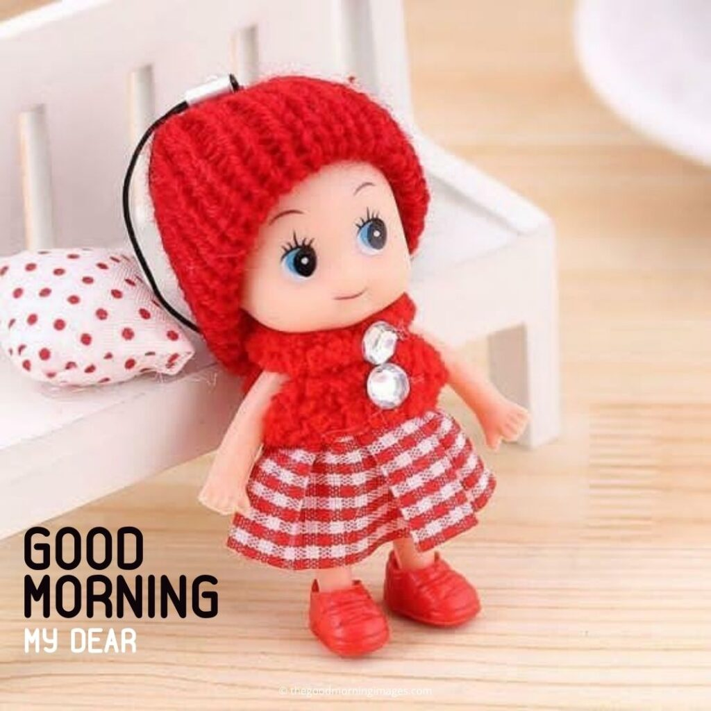 good morning girls teddy bear