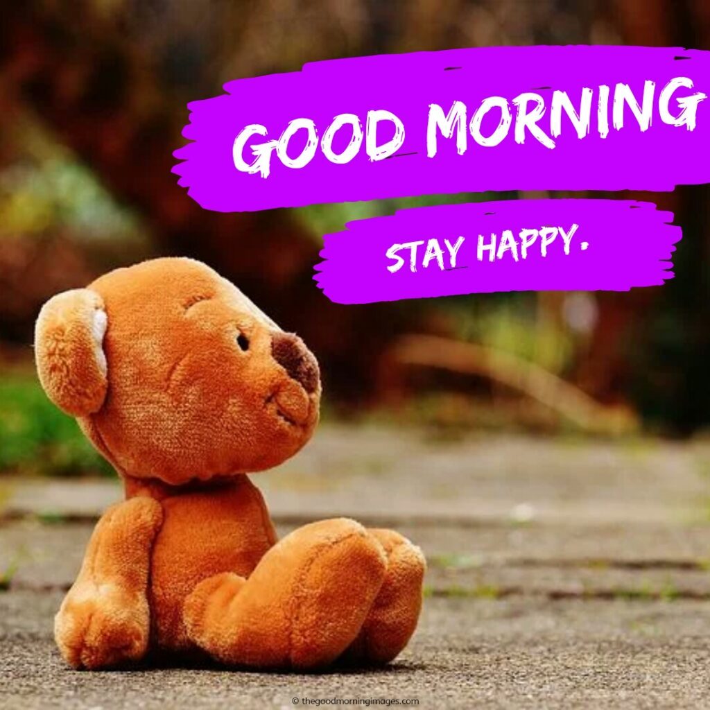 good morning images teddy bears