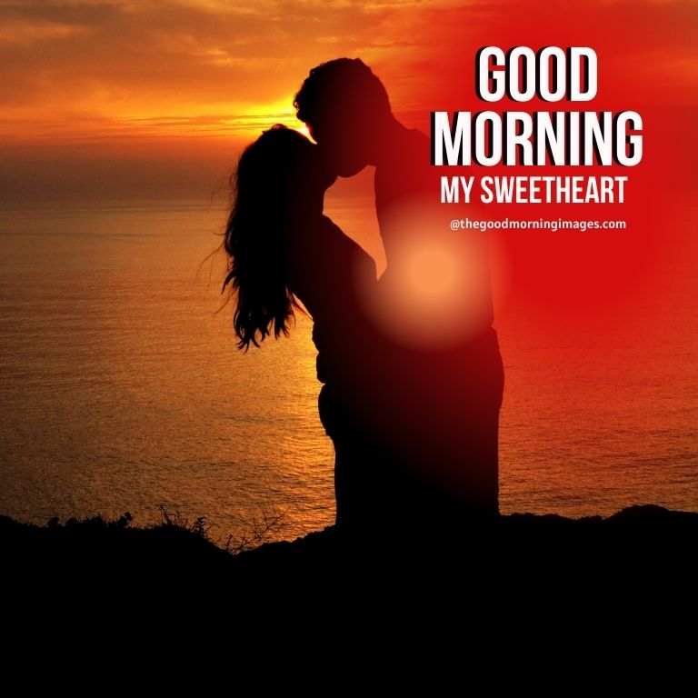 Good Morning Sweetheart kiss Images