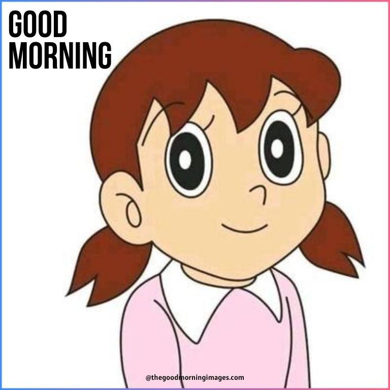 Good morning cartoon sizuka images