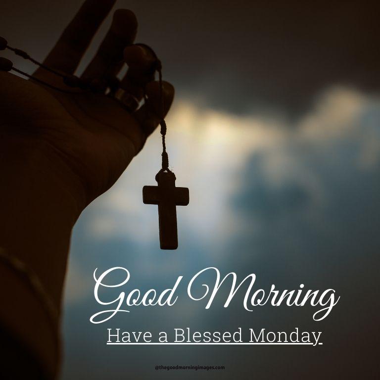 Good morning Monday god images Jesus