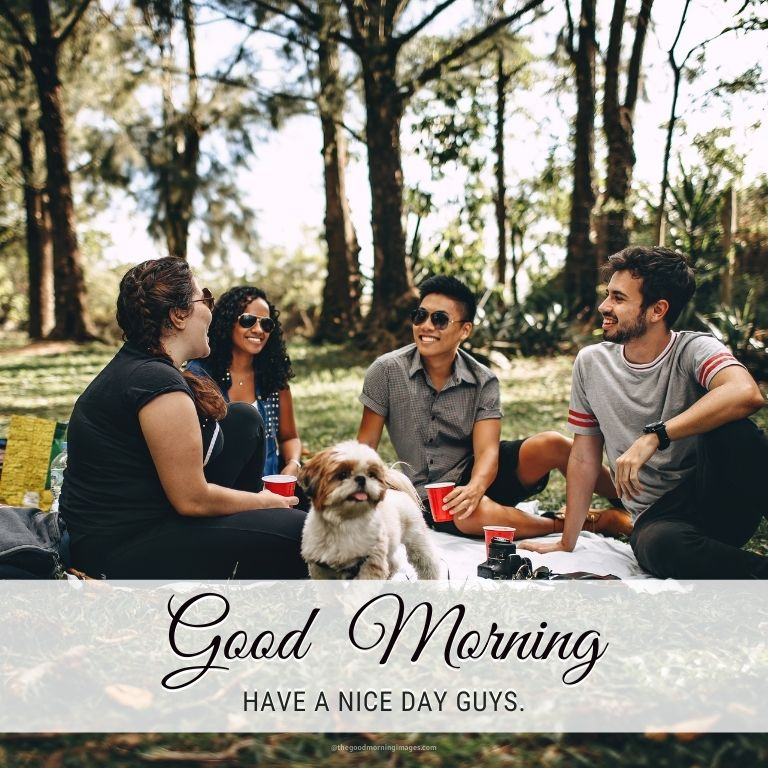 good morning images for friends groups