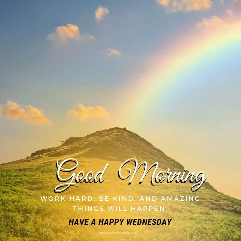 Good Morning Wednesday Images with quotes
