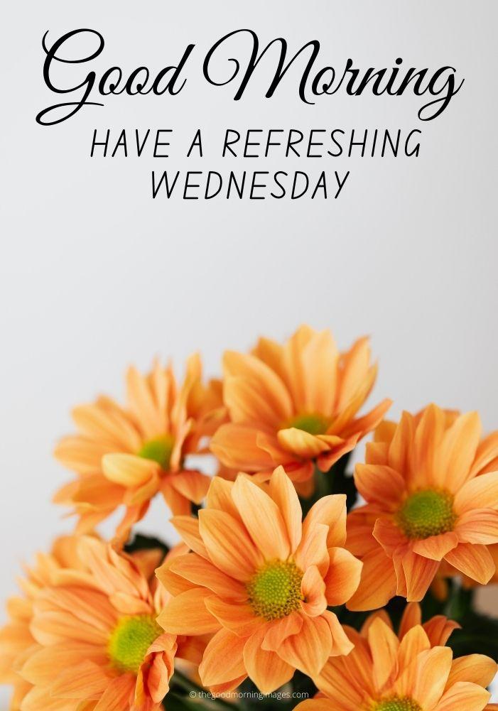 Good Morning refreshing Wednesday Images
