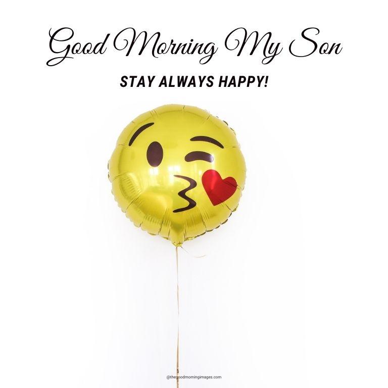Good Morning son photos