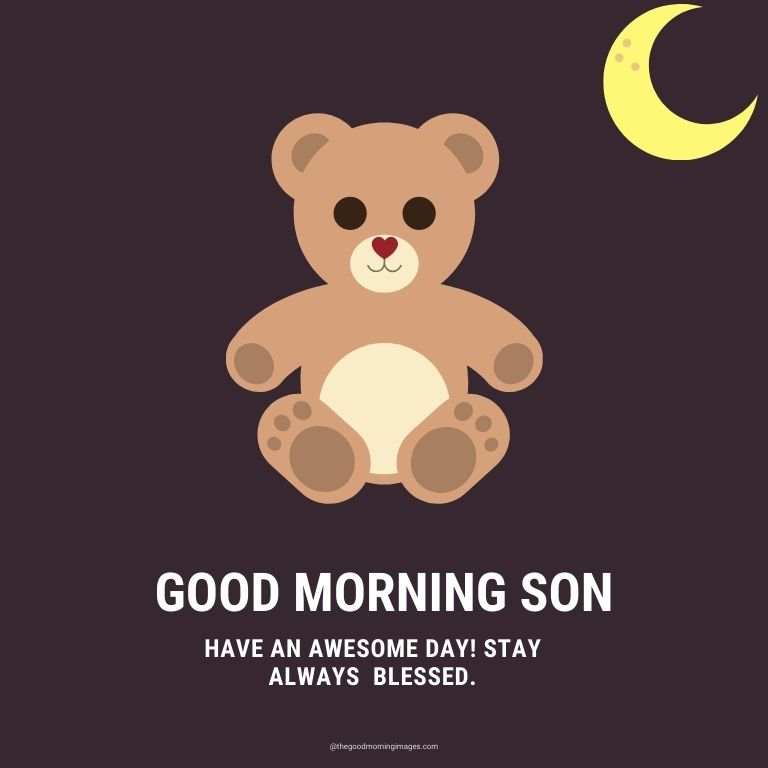 Good Morning Images for Son