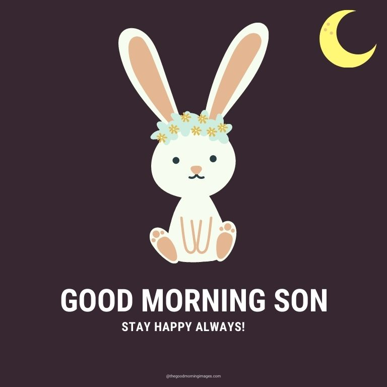 cute Good Morning Images for Son