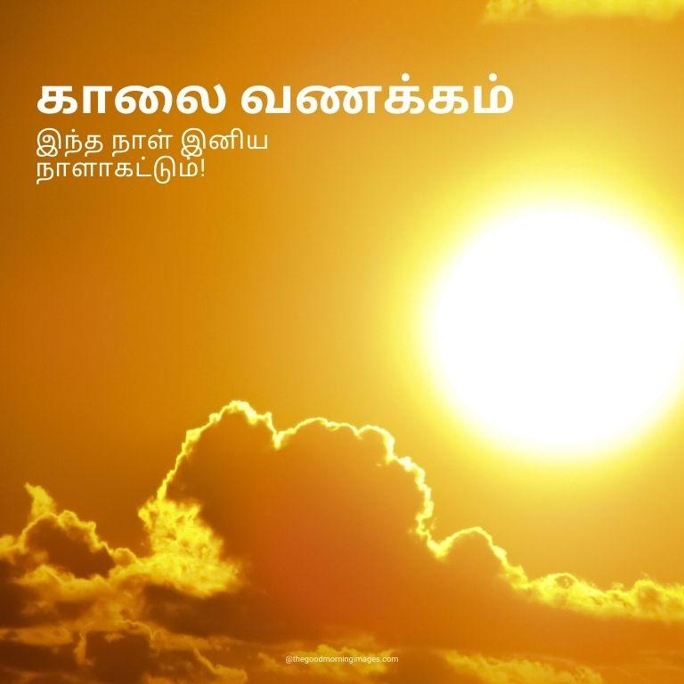 Good Morning Photos in Tamil