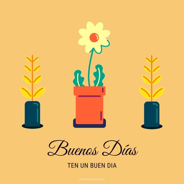 Good Morning Images in Spanish