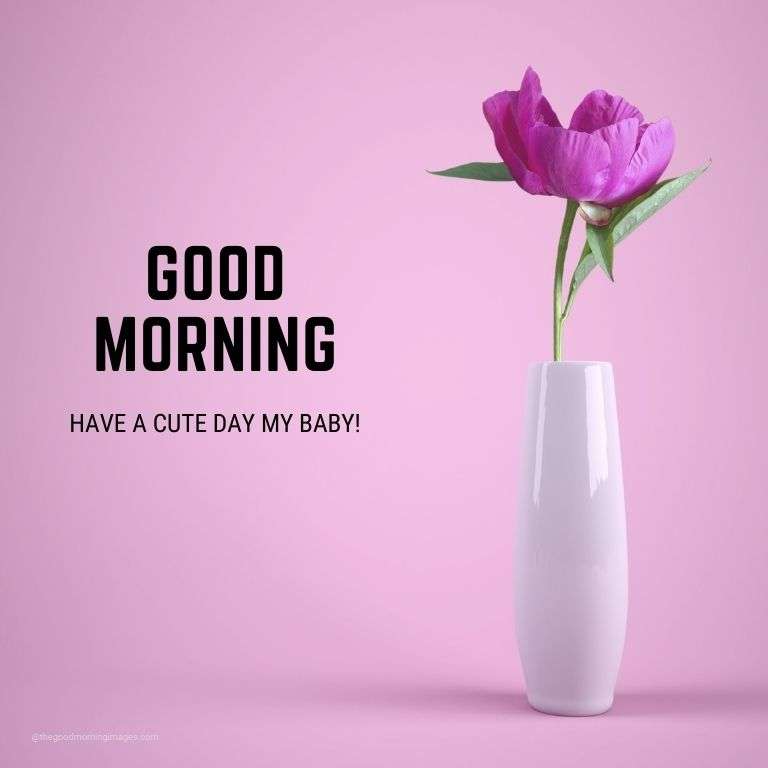 good morning love images baby