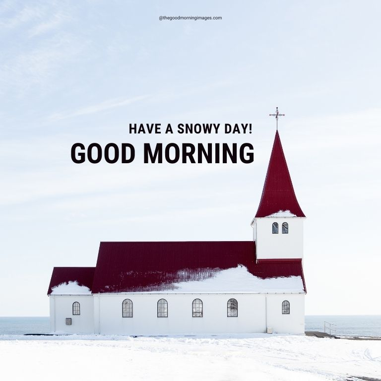good morning images winter