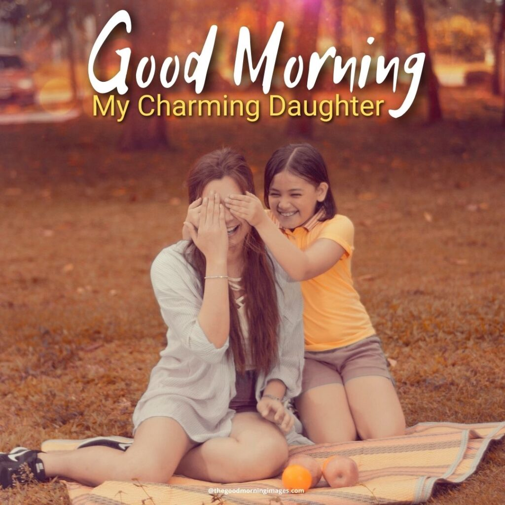 good morning daughter wishes