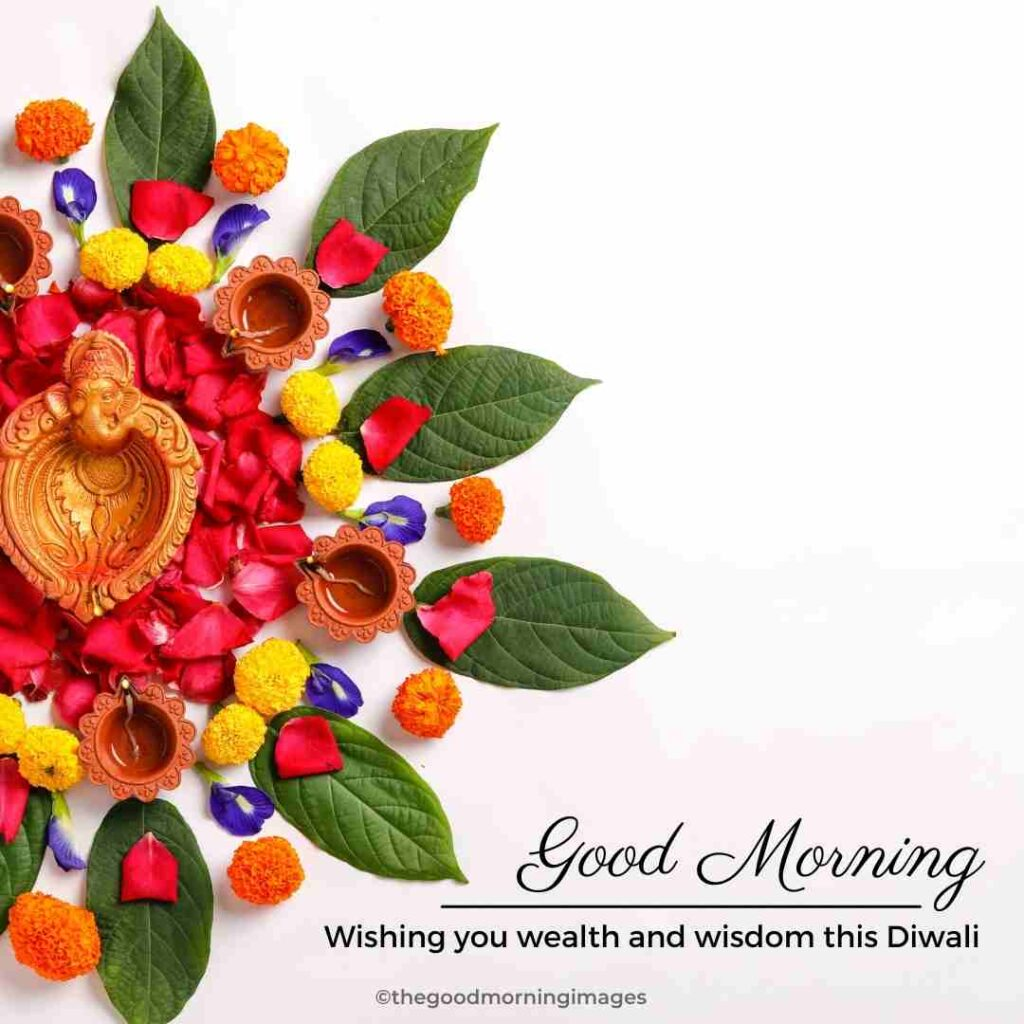 good morning Diwali images quotes