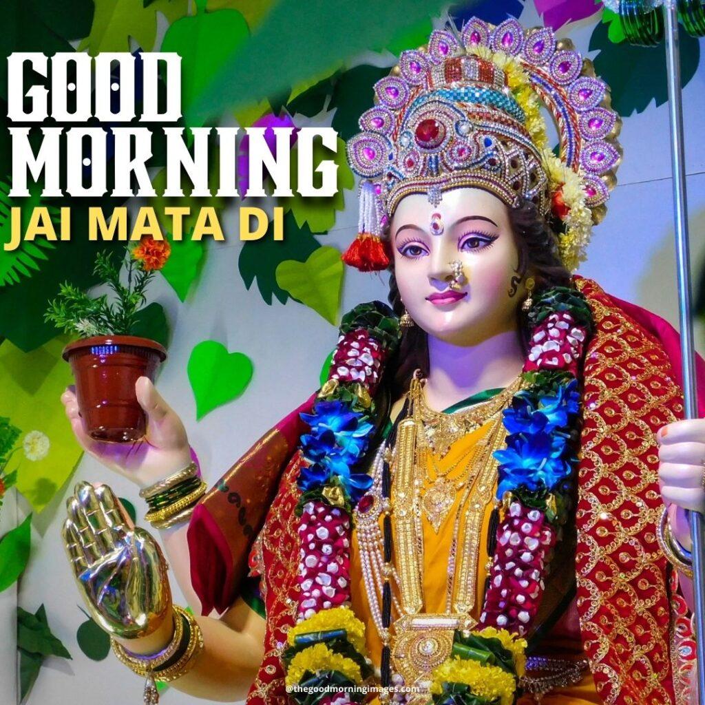 Good Morning Durga Maa Images