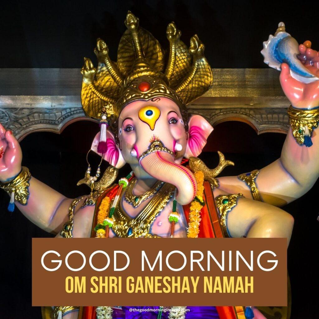 good morning ganesh photos