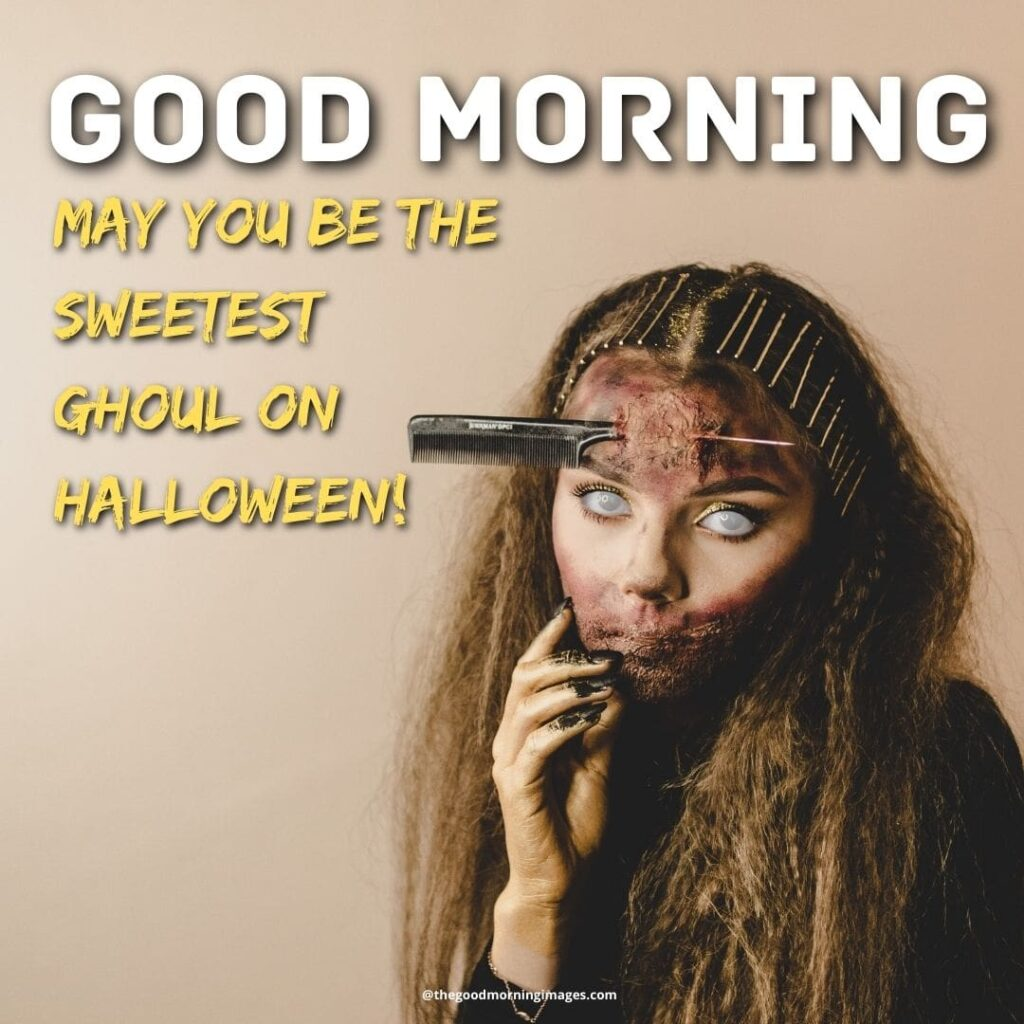 Good Morning Halloween images