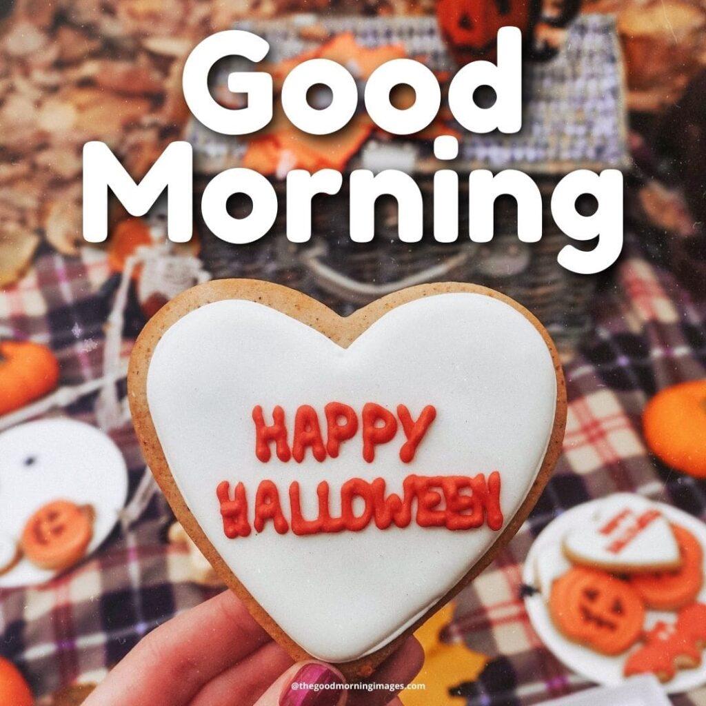 Good Morning Halloween love image