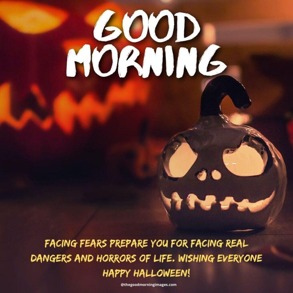 Good Morning Halloween meme