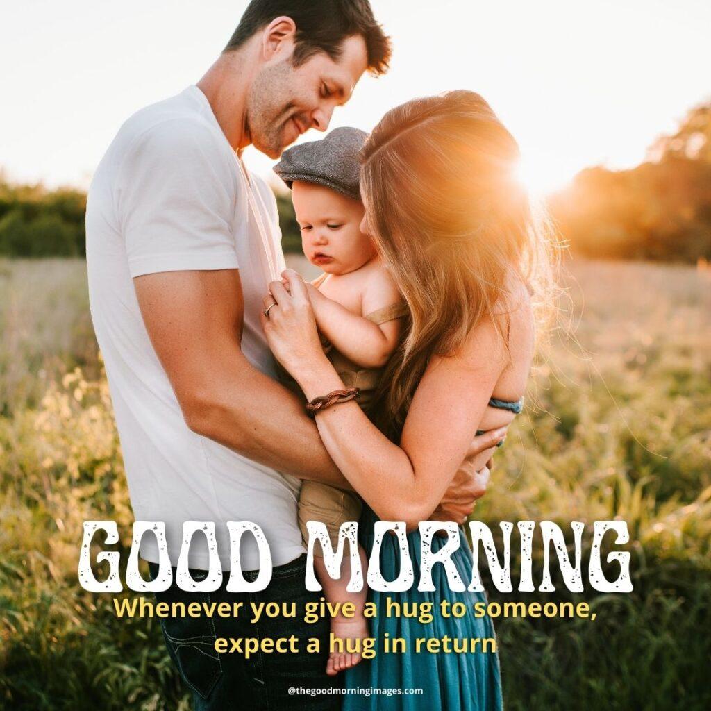 good morning Hug images couple