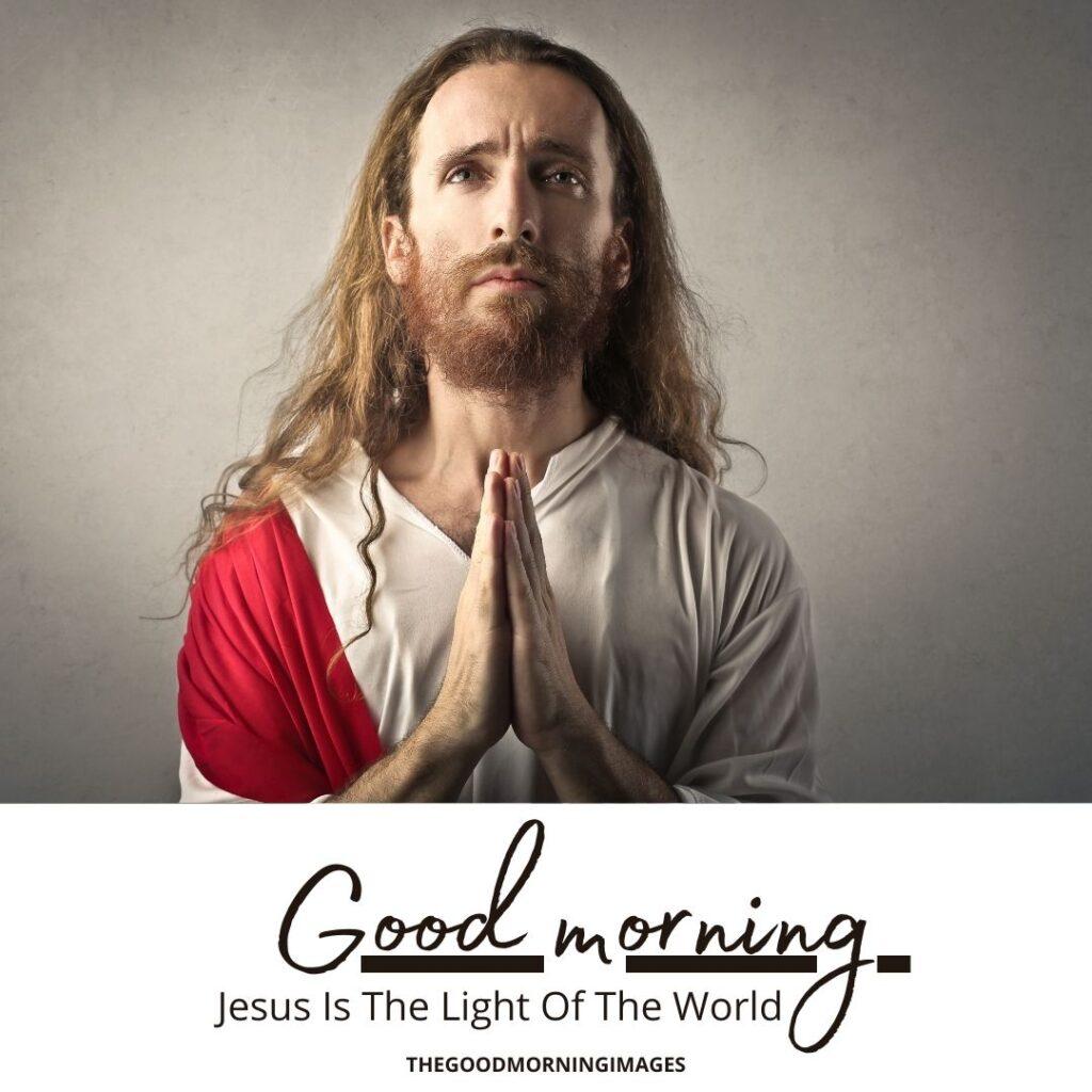 Good Morning Jesus Christ Images