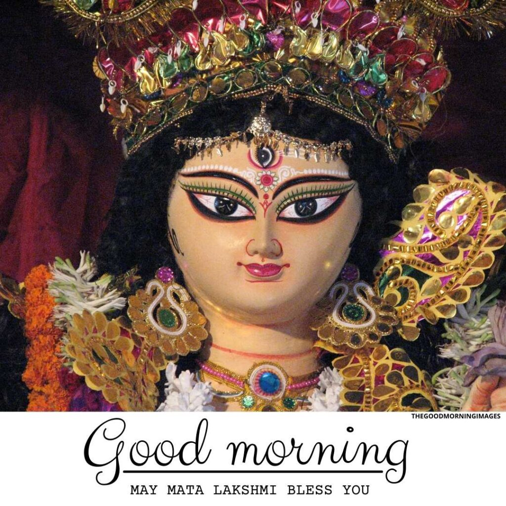 good morning images with lakshmi ma