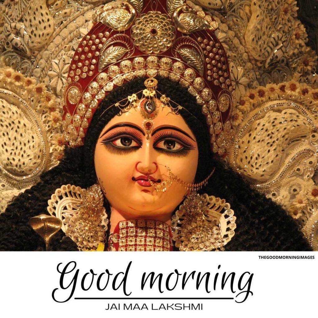 good-morning images with goddess lakshmi