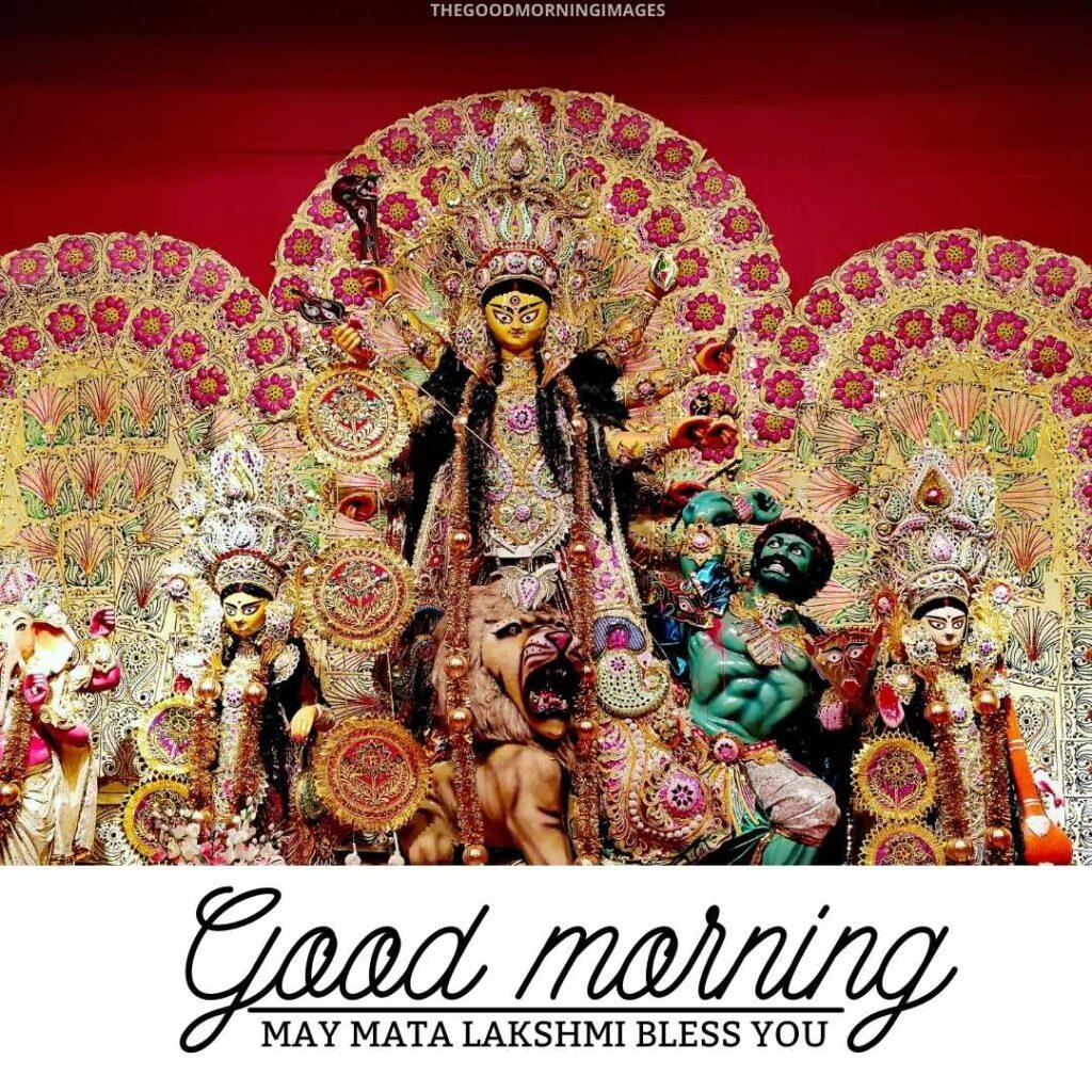 good morning images with laxmi maa